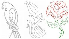 Meraklıları için Keyifli Filografi Desenleri