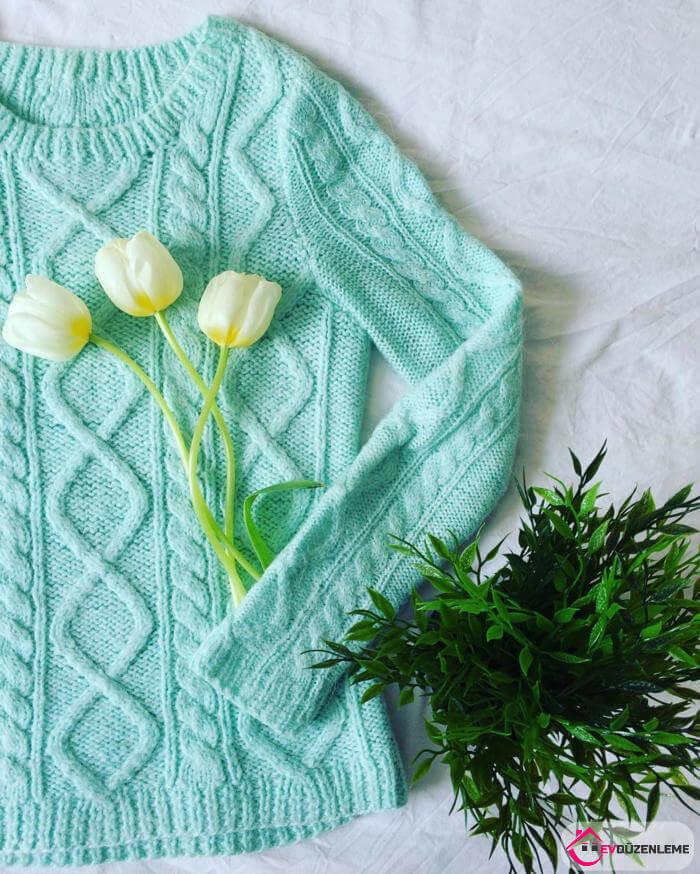 Winter Modern Women's Knitted Sweater Models