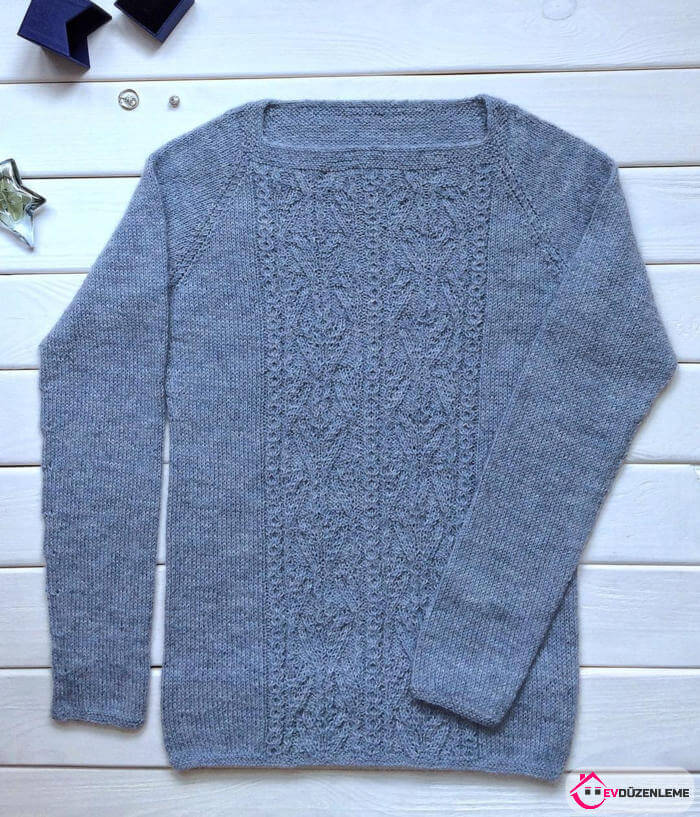 Season's Top Trend Knit Sweater Models Together