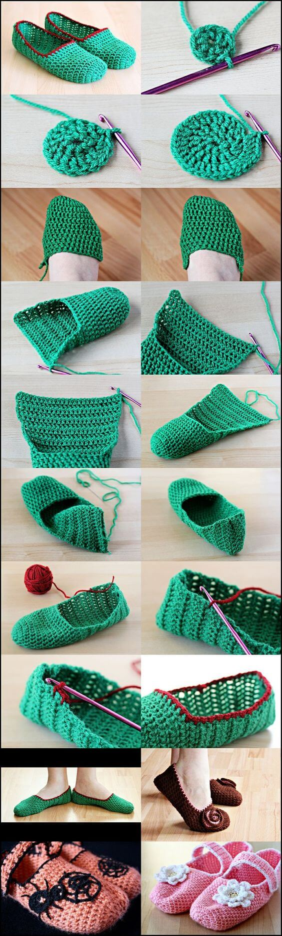 Top Trend Crocheted Booties Models and Making
