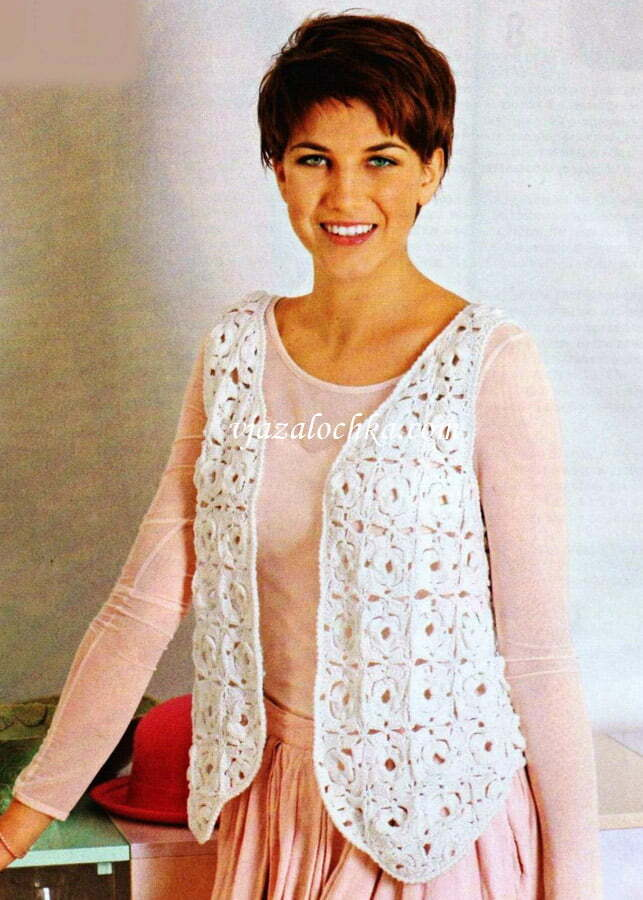 Most Modern and Stylish Options Crocheted Vest Models