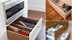 10 Zekice Yol ile Mutfak Çekmecelerinizi Bölün