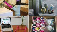 Hayatınızda İhtiyacınız Olacak 14 Kendin Yap PVC Boru Projeleri