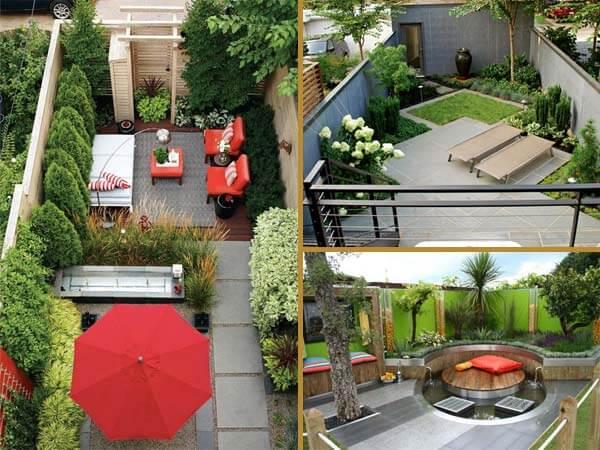 K k arka bah enizi geni ve rahat yapacak 23 fikir ev for Garden redesign on a budget
