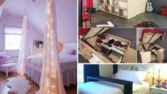 Yatak Odanız İçin 30 Parlak Fikir