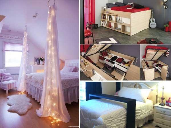 Yatak odan z in 30 parlak fikir ev d zenleme for Rearrange my room