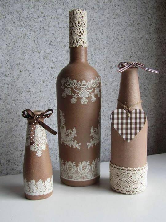 şık Bir Ev Için 13 Kendin Yap Cam şişe Süsleme Fikirleri Ev Düzenleme