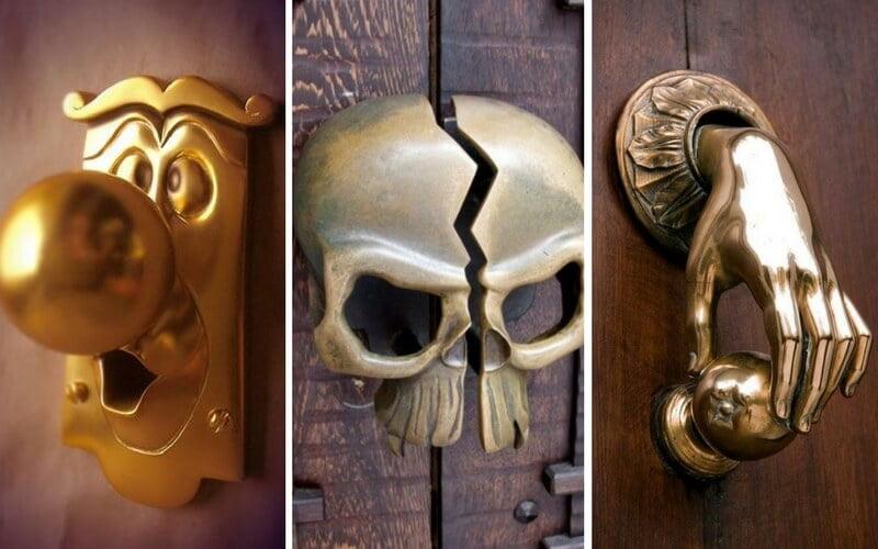 Eviniz için İlginç Kapı Kolları