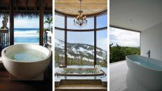 Manzaralı Banyolar Çok Hoşunuza Gidecek