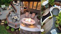 Arka Bahçenizin Avlusunu Düzenlemek için 36 Harika Fikir