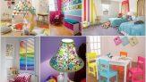 Eğlenceli, Neşeli ve Renkli Çocuk Odası Dekorasyon Fikirleri