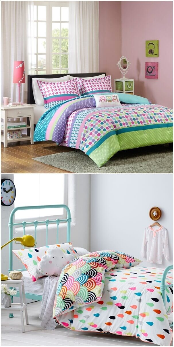 Fun, Cheerful and Colorful Kids Room Decorating Ideas