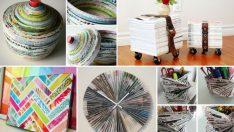 Eski Dergileri Ev Dekorunda Kullanmanın 22 Farklı Yolu