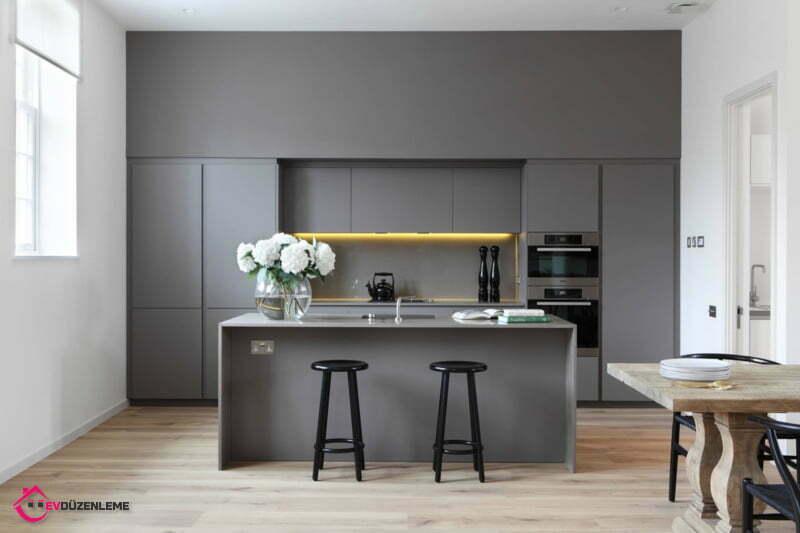 40 Fabulous Kitchen with Gray Theme