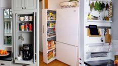 Küçük Mutfaklar İçin Hayatınızı Kolaylaştıracak 40 İnanılmaz Etkili Depolama Fikri