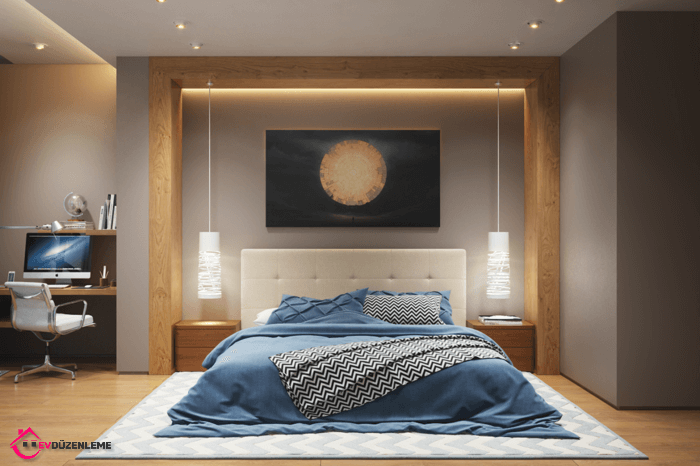 28 Wonderful Bedroom Lighting Idea That Will Take Your Mind Away