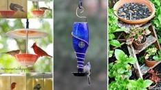 20 Kuş Yemliği Fikri, #6 Kesinlikle Bütün Kuşları Bahçenize Çekecek