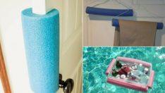 Yüzme Köpüğünü Değerlendirmenin 17 Akıllı Yolu (Yüzmek Dışındaki)