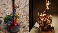 Eski Aksiyon Figürlerinizi Kullanarak Bir Lamba Yapın