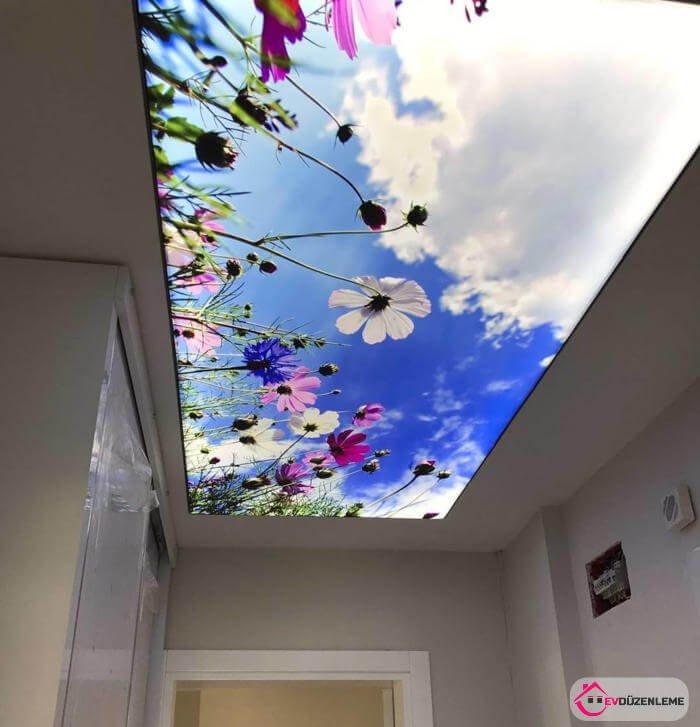 Gergi Tavan 19. koridorlarda kullanılabilecek gergi tavan modelleri - ev düzenleme