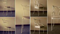 19 Farklı Minimalist Ferforje Sandalye Modelleri