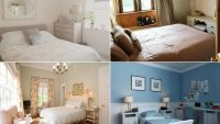 Birçok Tarz Bir Arada; Country Yatak Odası Modelleri
