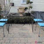 5) Buz Mavisi Sandalyeler