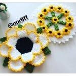 3. Aynı Çiçek Motifinin Farklı Uyarlamaları