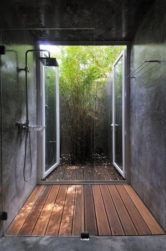 Dışa Açılan Duş