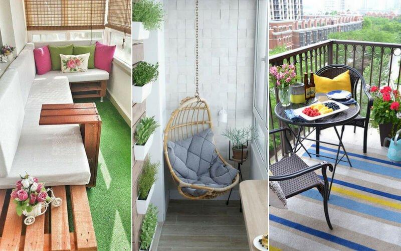 Balkonunuzu Güzelleştirmeniz için Kendin Yap Fikirleri