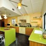 13-Konforlu ve Şık Bir Mutfak Modeli