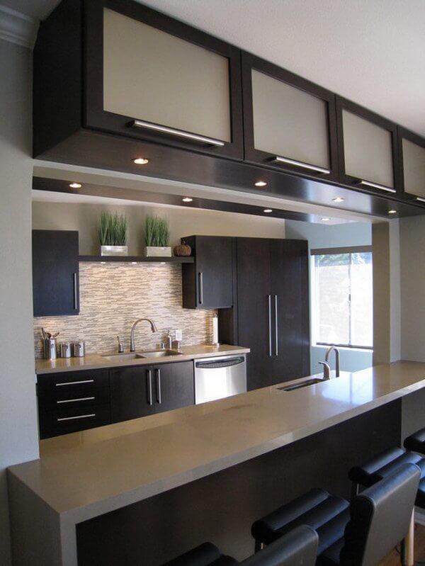 23-Küçük Mutfak Büyük Tasarım