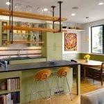 29-Küçük ve Sıcak Bir Mutfak Tasarımı