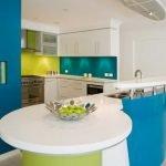 4-Renkli ve Ferah Bir Mutfak