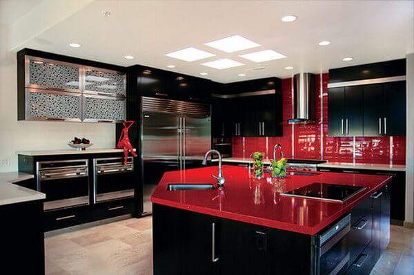 5-Geniş ve Rahat Bir Mutfak