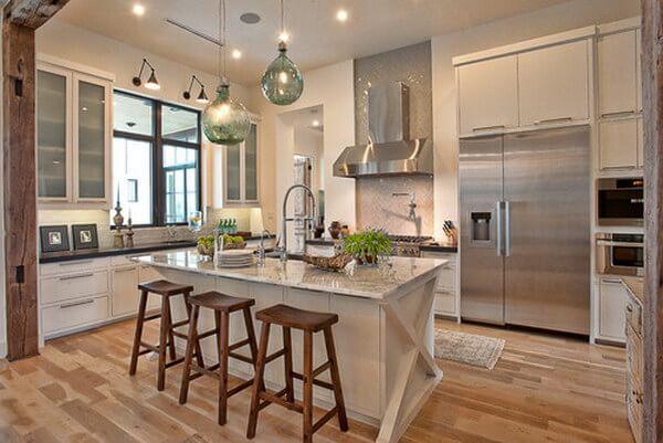6-Soft ve Işıl Işıl Mutfak Dekorasyonu
