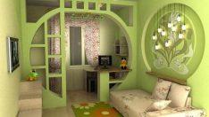 Çocuklarınzın Odasını Bölmek İçin Kullanacağınız Harika Tasarımlar